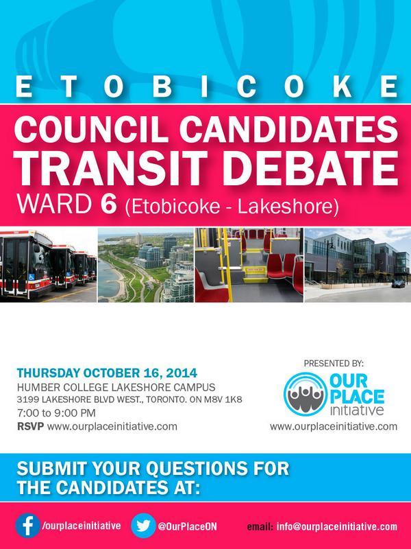 Ward Council Candidates Transit Debate