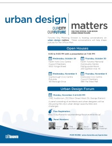 Official Plan Review - Urban Design Flyer