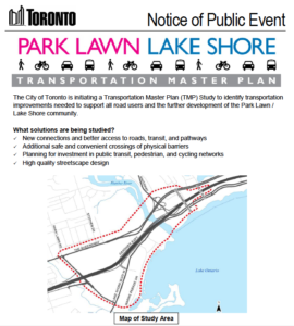 Park Lawn Lake Shore Transportation Master Plan
