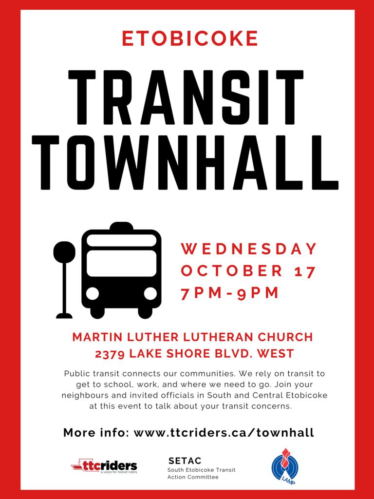 Etobicoke Transit Town Hall
